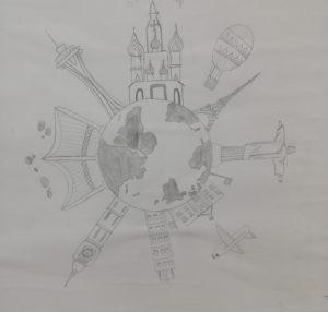 7th Grade Art Buildings Around the World